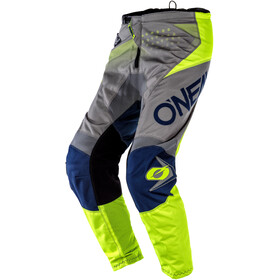 O'Neal Element Cykelbukser Unge, factor-gray/blue/neon yellow